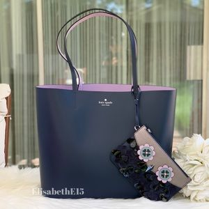 Kate Spade Zibbi Medium Tote with Wristlet